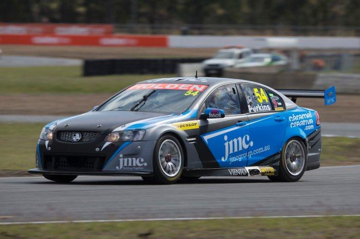 Perkins' Dunlop Series entry in 2013 -turn six