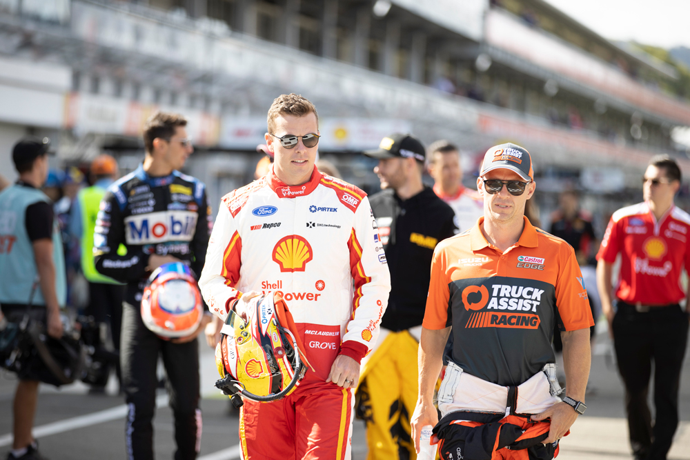 McLaughlin proud of Supercars community's efforts
