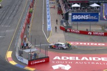 Whincup's 136-race finishing streak ends