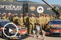 Erebus arrives in Townsville with a bang