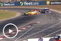 Whincup spins Mostert in Race 11