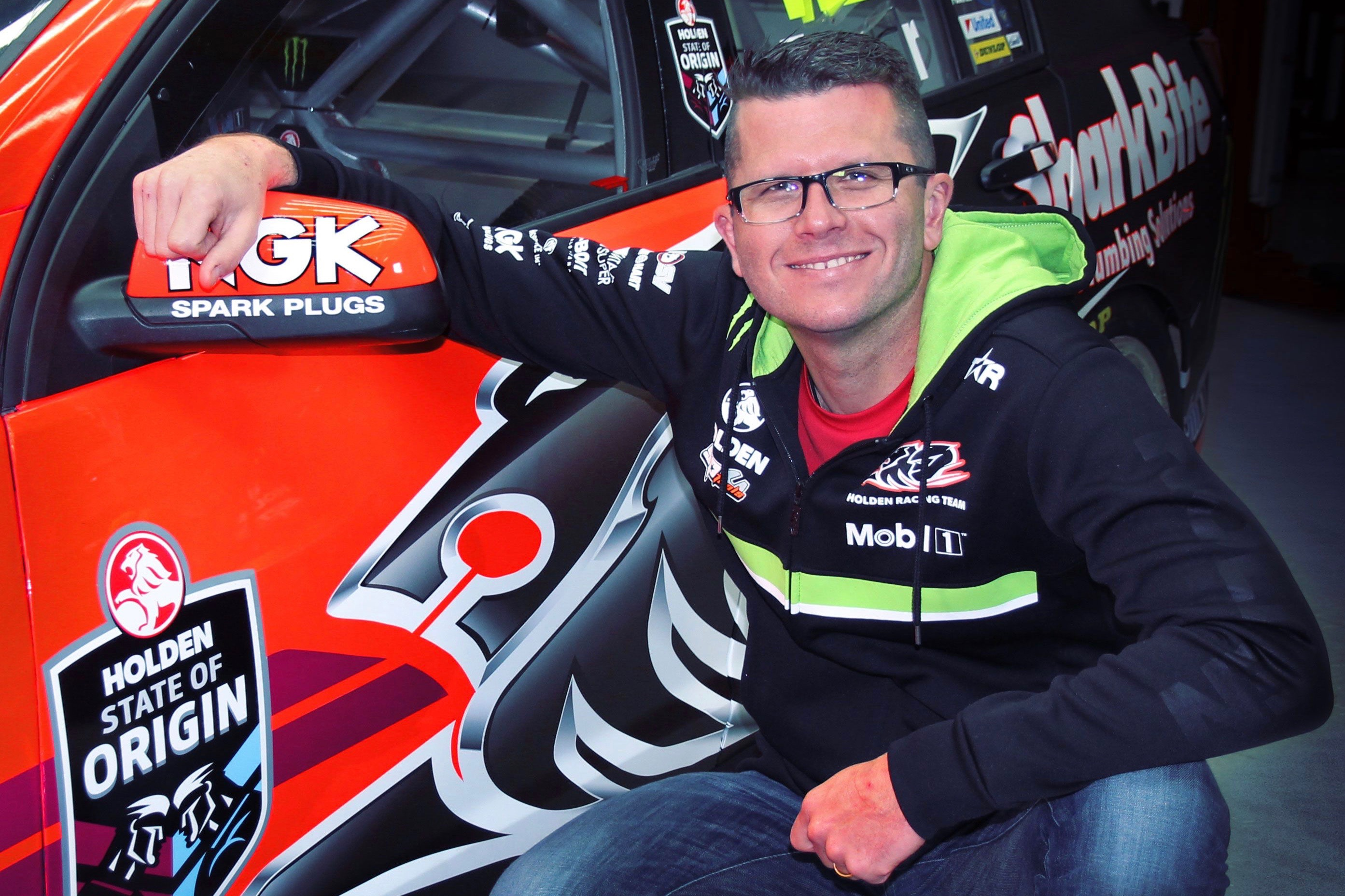 Garth Tander State of Origin Townsville 2016