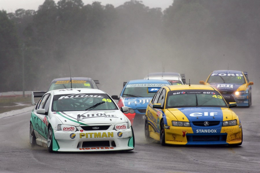 Fujitsu V8 Supercars Race 2 at Oran Park Raceway, Sydney