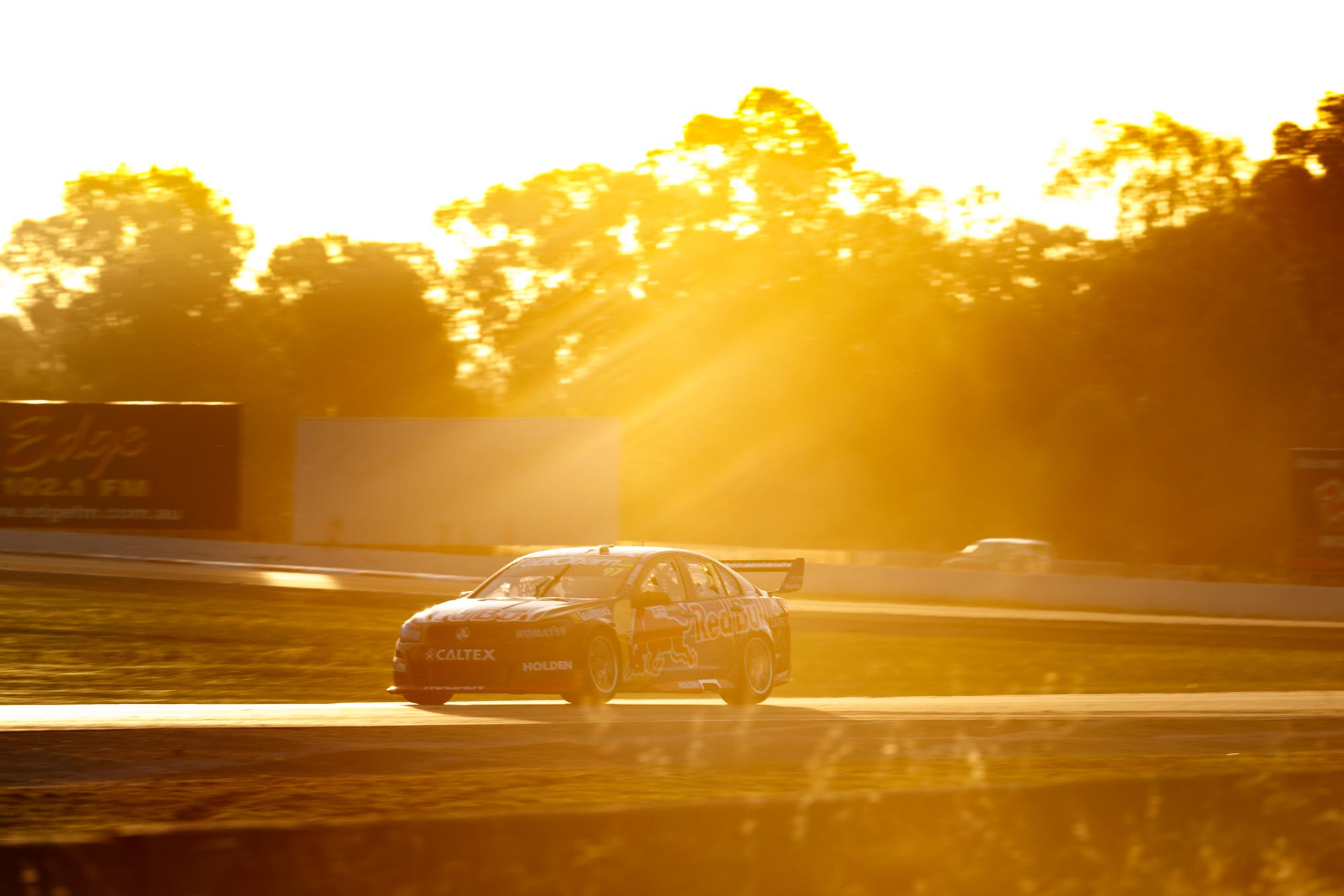 Jamie Whincup of Red Bull Racing Australia during the Woodstock Winton SuperSprint,  at the Winton Motor Raceway, Winton, Victoria, May 20, 2016.