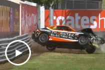 Toyota crash delays Supercars practice