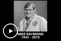 Commentators' tribute to Mike Raymond