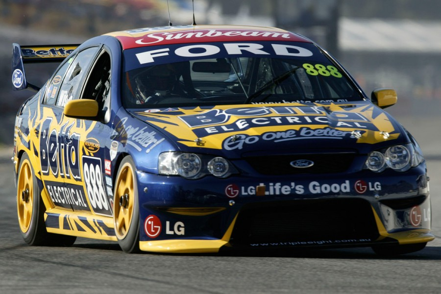 Triple Eight's first Adelaide 500 appearance came in 2004