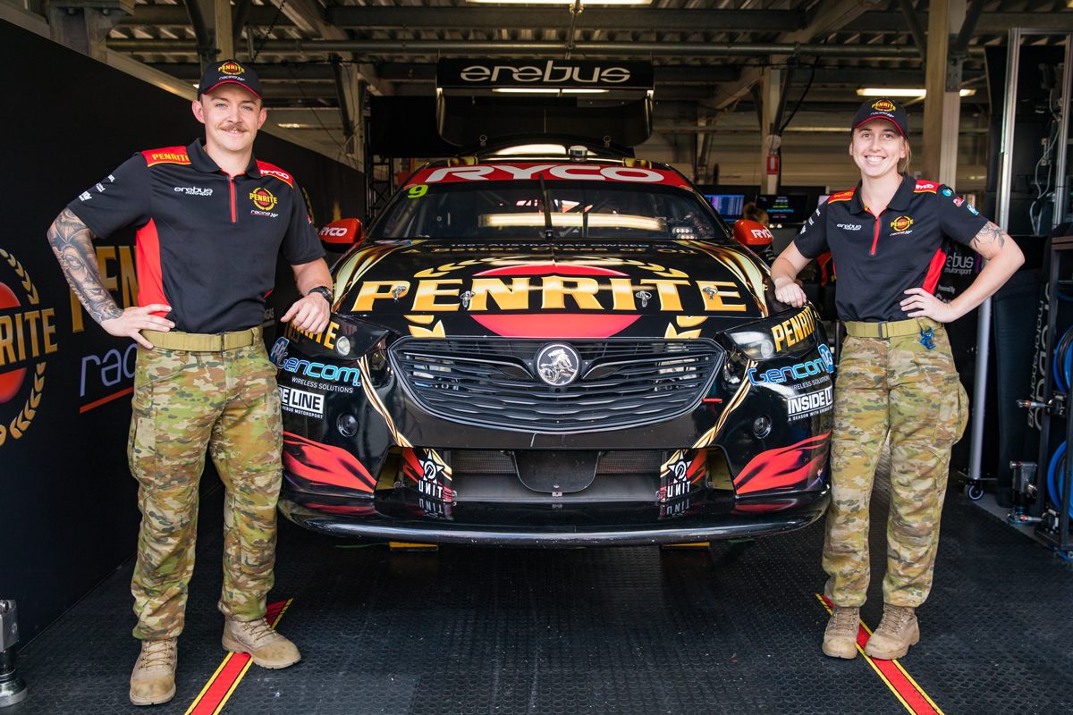 Penrite Racing recruits Army soldiers