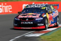 Whincup fires first shot