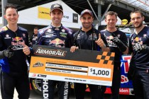 Whincup spoils SVG's party