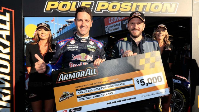 Whincup claims Bathurst pole