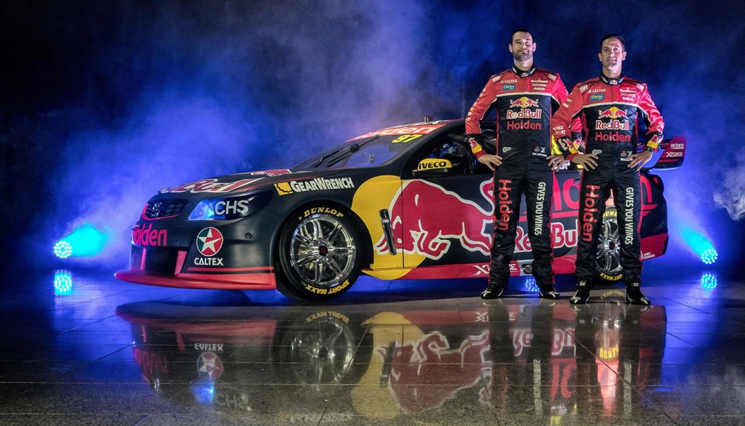Red Bull Holden Racing Team Launch
