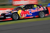 Dumbrell leads co-drivers