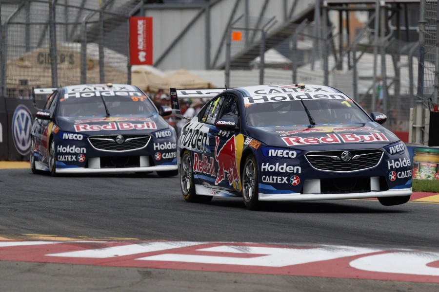 Jamie Whincup of Red Bull Holden Racing Team during the ,  at the , , , March 04, 2018.