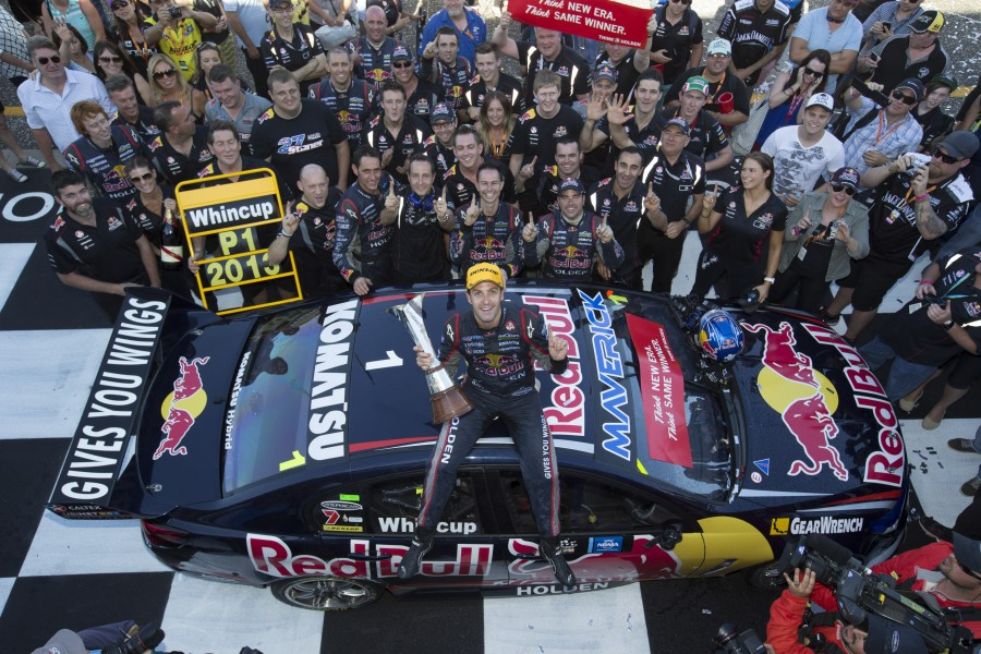 Jamie Whincup - Action