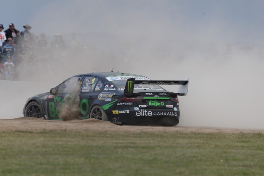 Mark Winterbottom of Prodrive Racing Australia during the Supercheap Auto Bathurst 1000,  at the Mount Panorama Circuit, Bathurst, New South Wales, October 09, 2016.