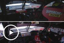 Onboard co-driver comparison: Moffat and Premat