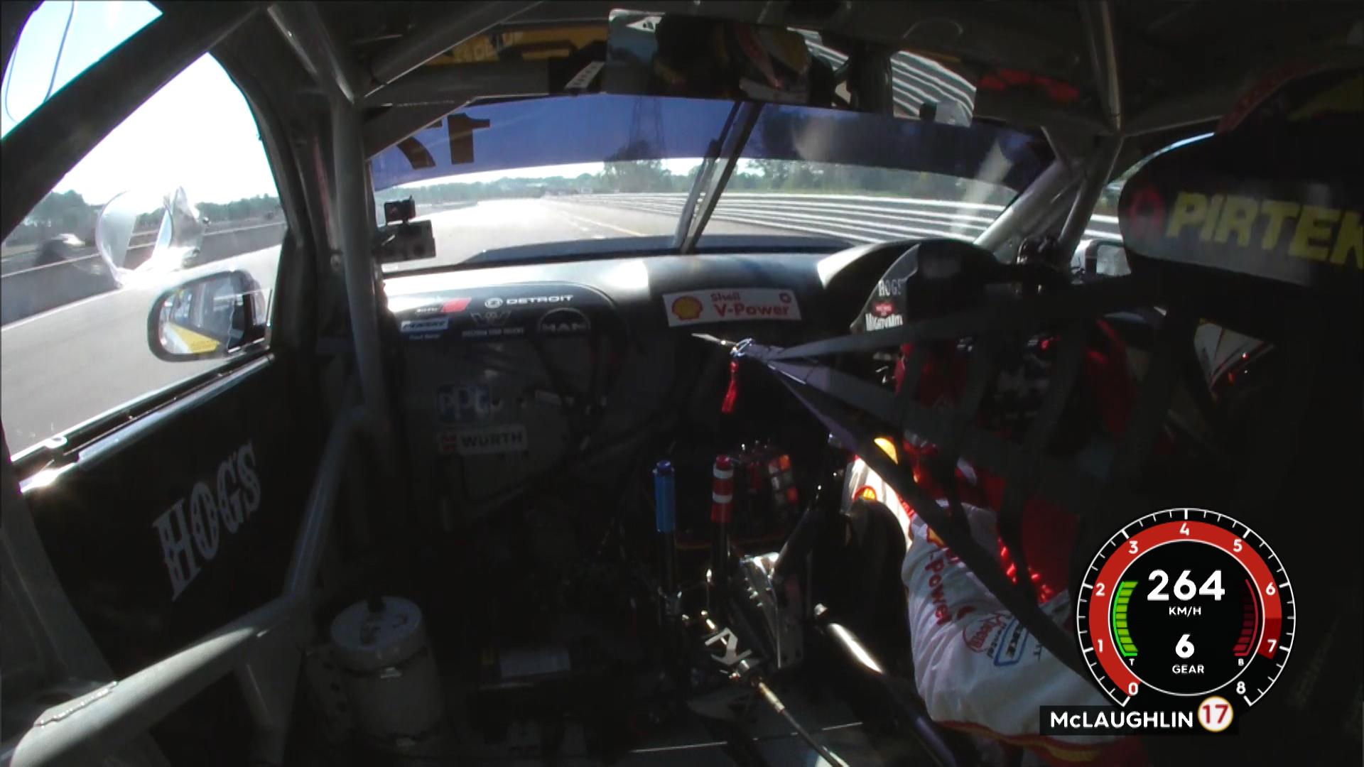 McLaughlin breaks Hidden Valley lap record | Supercars