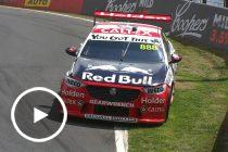 Stanaway and Whincup crash in Practice 5