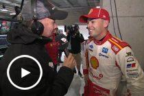 McLaughlin 'proud' of wet qualifying speed
