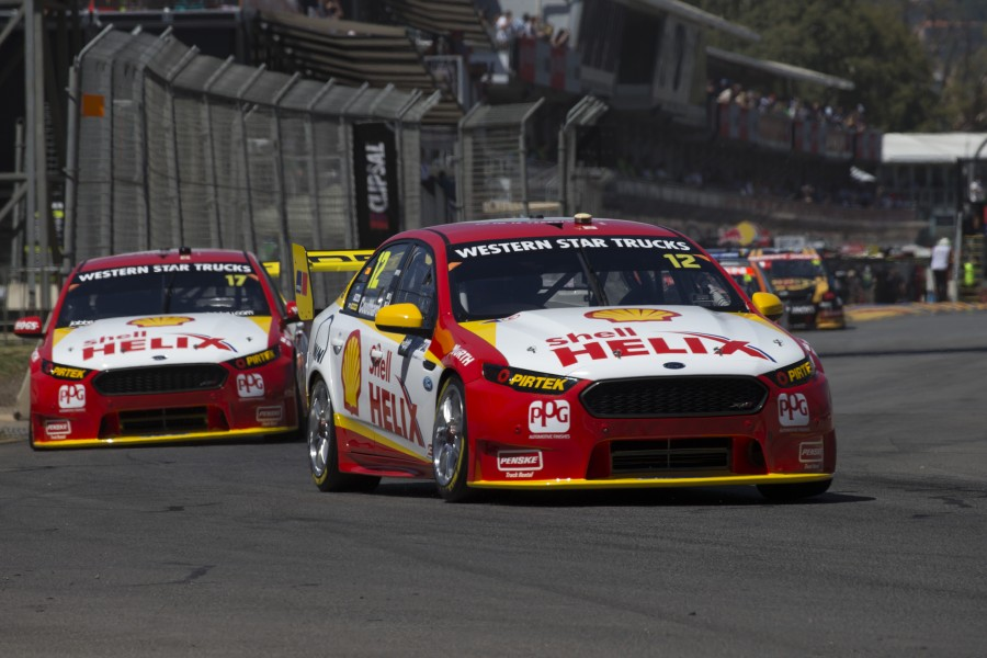 Fabian Coulthard of Team DJR Penske during the Clipsal 500 2016