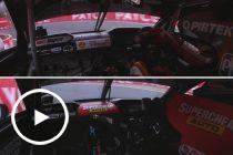 Onboard: McLaughlin vs Mostert in Shootout