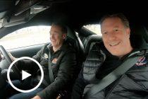 Murph takes McLaren boss for a spin