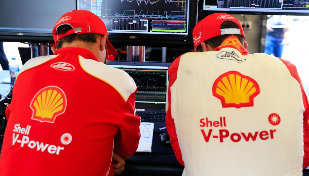 McLaughlin and engineer Ludo Lacroix study data