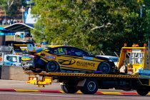 Crashed Slade chassis returns to action