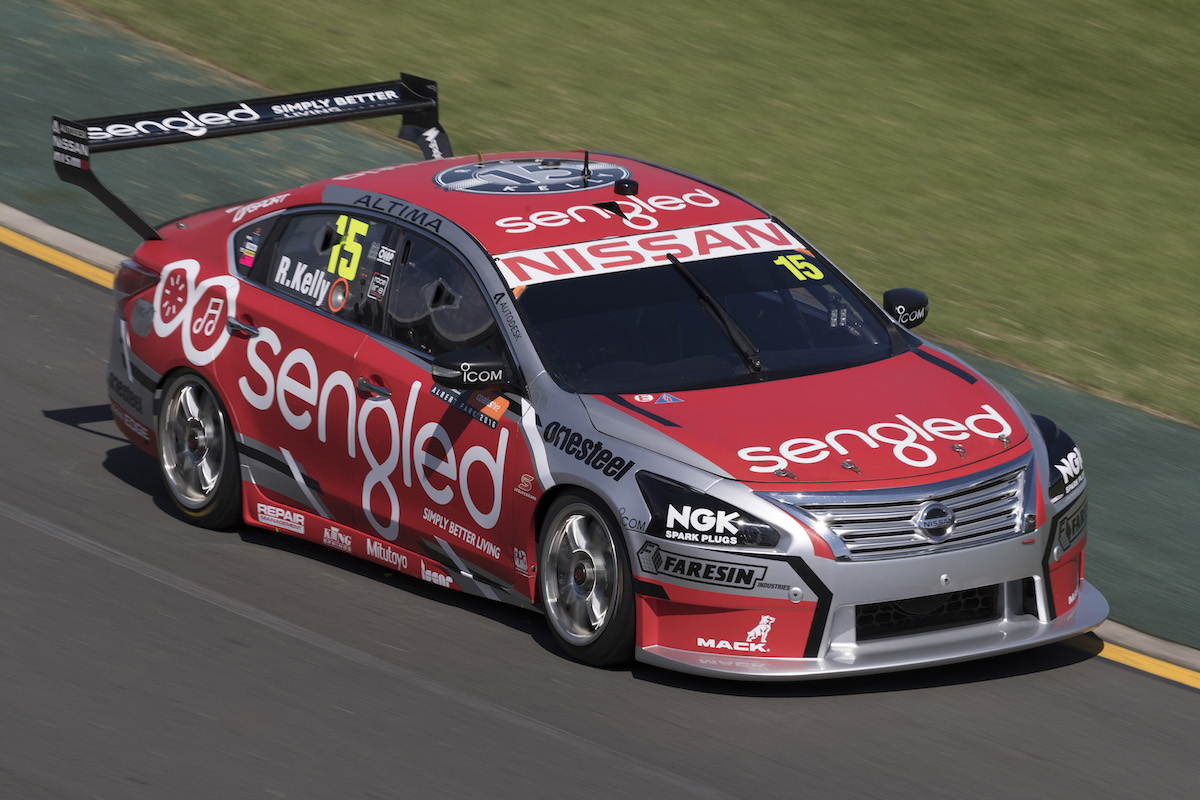 Rick Kelly of the Nissan Motorsport during the Clipsal 500,  at the Adelaide Street Circuit, Adelaide, South Australia, March 17, 2016.