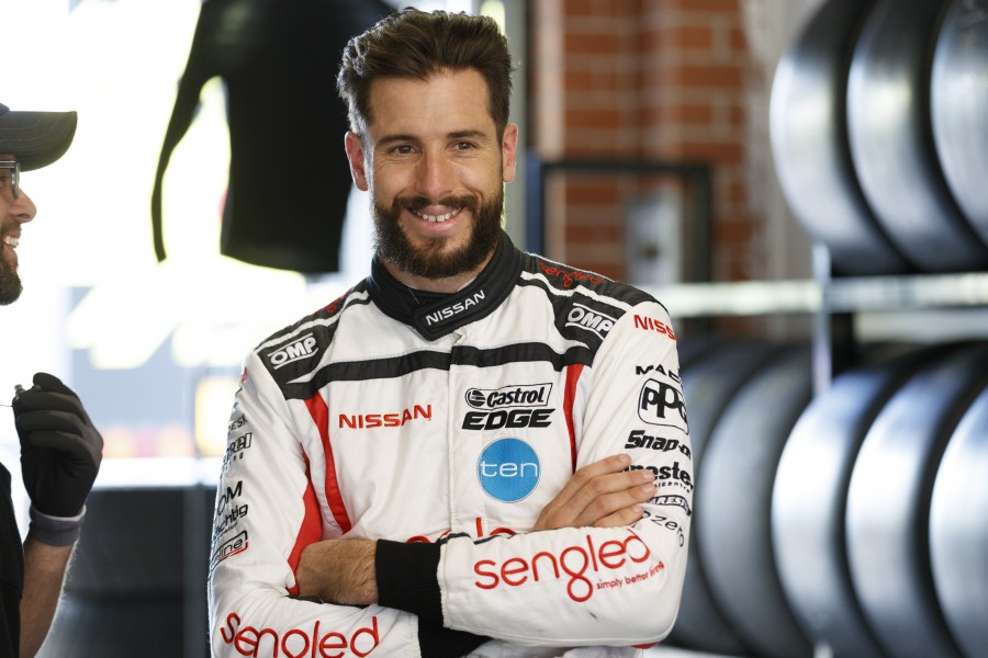 Rick Kelly of the Nissan Motorsport during the Virgin Australia Supercars Championship Test Day,  at the Sydney Motorsport Park, Sydney, New South Wales, February 21, 2017.
