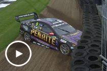 Reynolds crashes out of Sunday qualifying