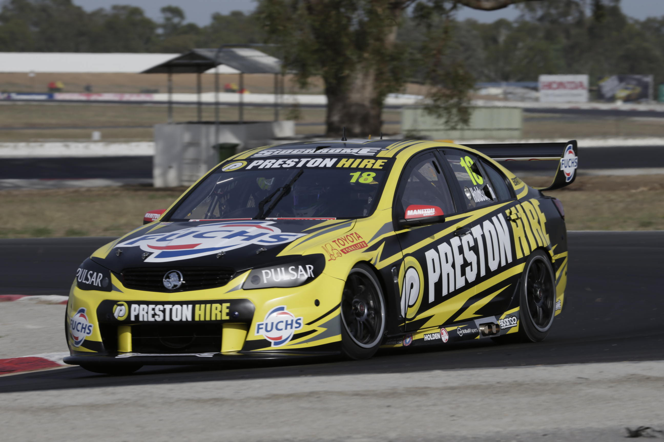 Lee Holdsworth Winton test