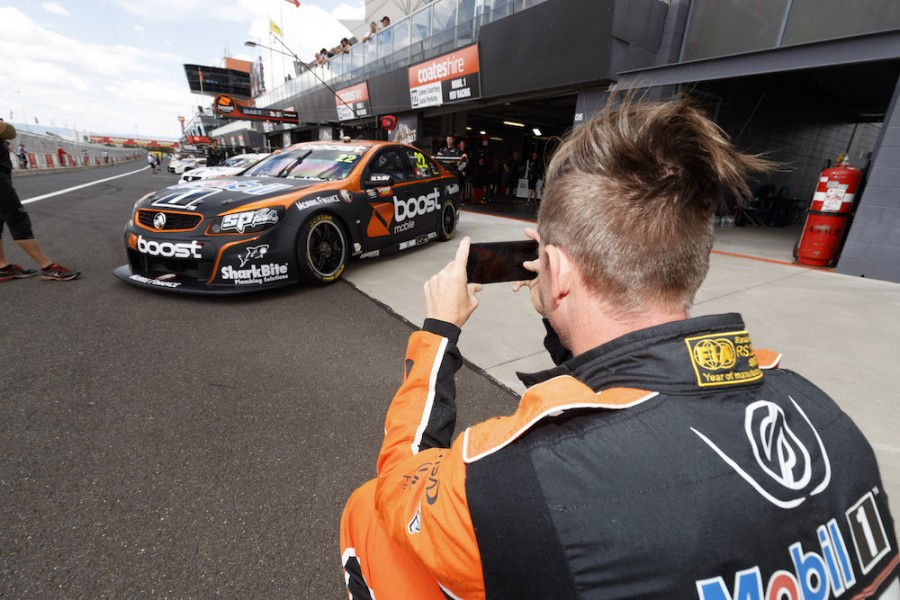 James Courtney of Walkinshaw Racing during the Supercheap Auto Bathurst 1000,  at the Mount Panorama Circuit, Bathurst, New South Wales, October 05, 2017.