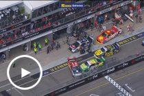 Chaos breaks out in pitlane under Safety Car