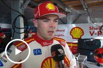 McLaughlin: Car 'didn't feel right' after contact