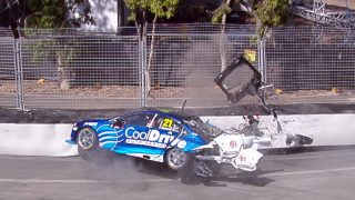 Crashed Jones chassis benched for Albert Park