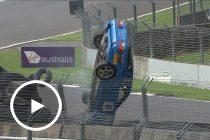 High-speed Porsche acrobatics at Pukekohe