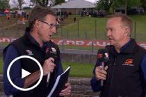 Skaife: Van Gisbergen in trouble for wheelspin