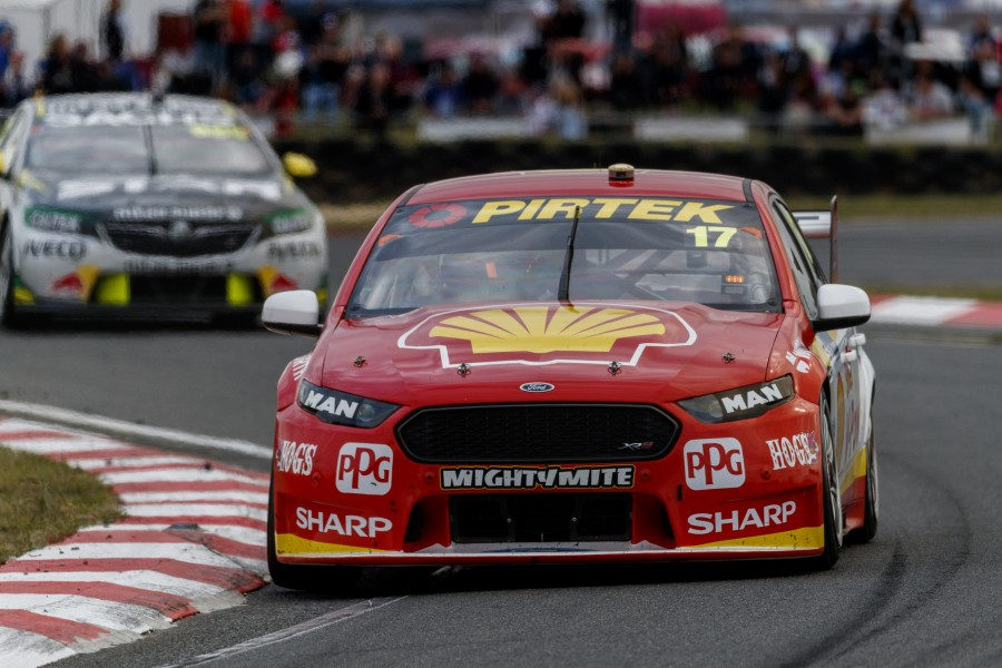 Scott McLaughlin of DJR Team Penske during the , , , April 08, 2018.