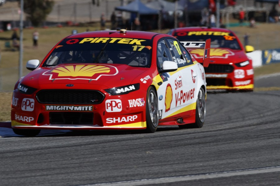 Scott McLaughlin of DJR Team Penske during the Perth SuperSprint,  at the Barbagallo Raceway, Wanneroo, Western Australia, May 05, 2017.