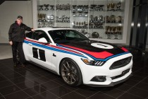 Tickford unveils Moffat tribute Mustang
