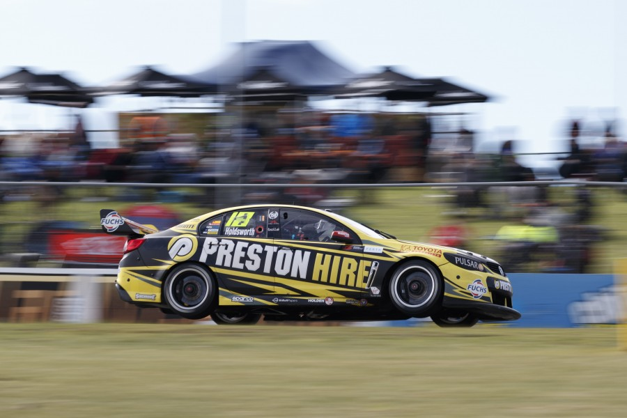 Lee Holdsworth of Walkinshaw Racing during the Perth SuperSprint,  at the Barbagallo Raceway, Wanneroo, Western Australia, May 08, 2016.