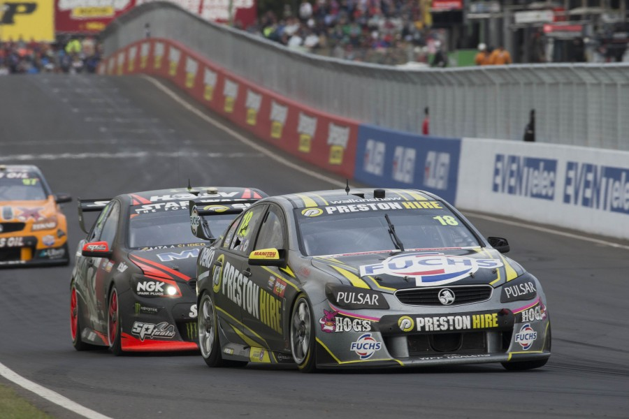 Holdsworth spent a single season in a four-car Walkinshaw Racing team