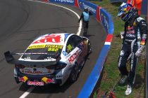 Whincup crashes out of Bathurst 1000
