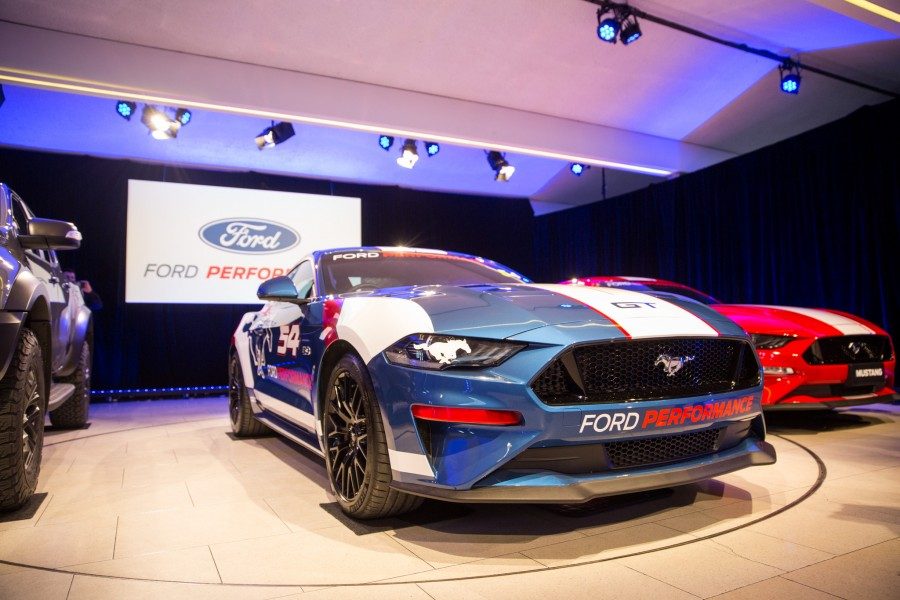 Ford's Supercars re-entry coincides with the local launch of Ford Performance