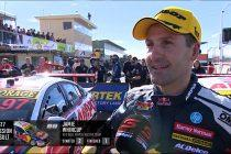 Whincup's cheeky comments after knocking off SVG