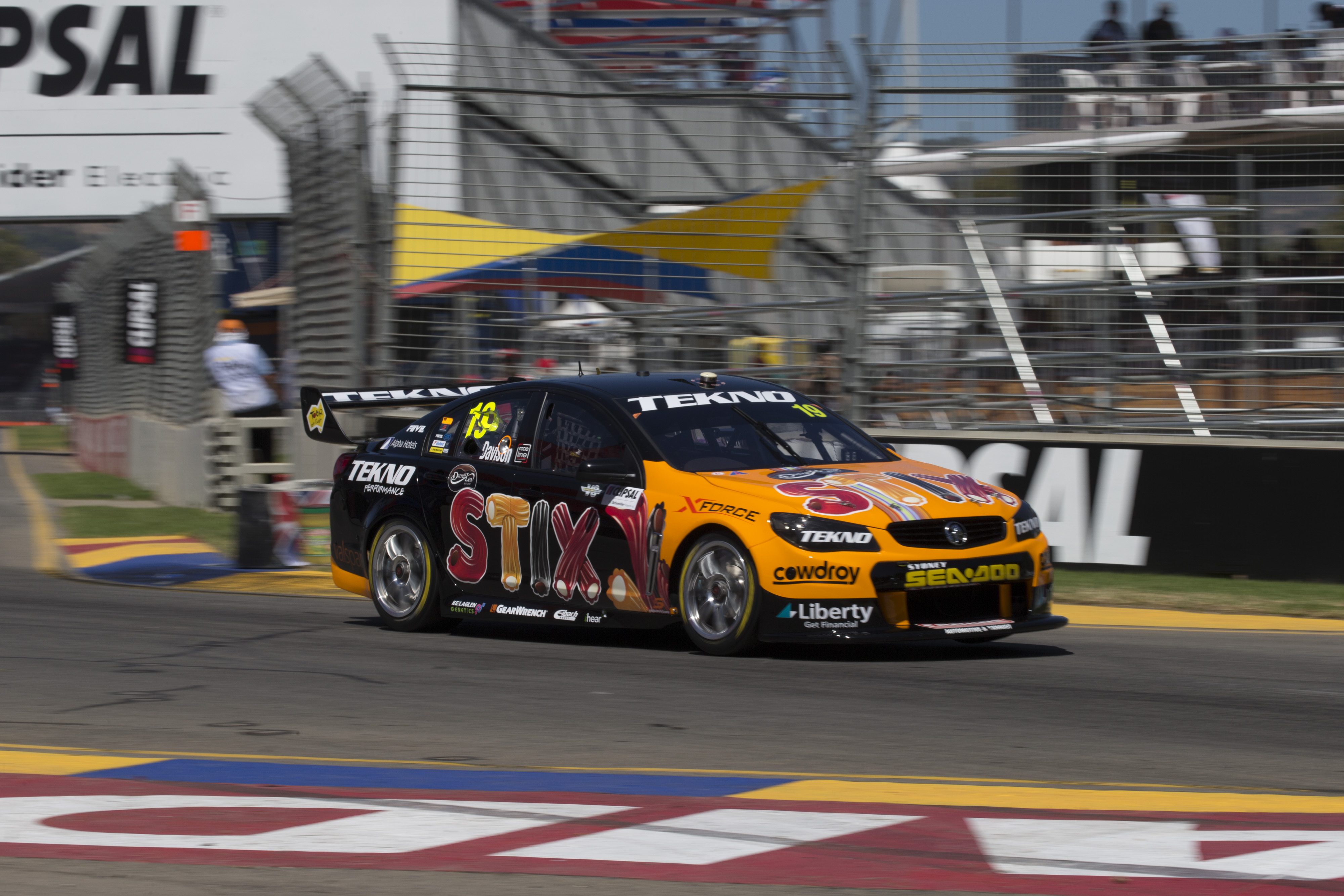Will Davison of Tekno Autosports during the Clipsal 500,  at the Adelaide Street Circuit, Adelaide, South Australia, March 04, 2016.