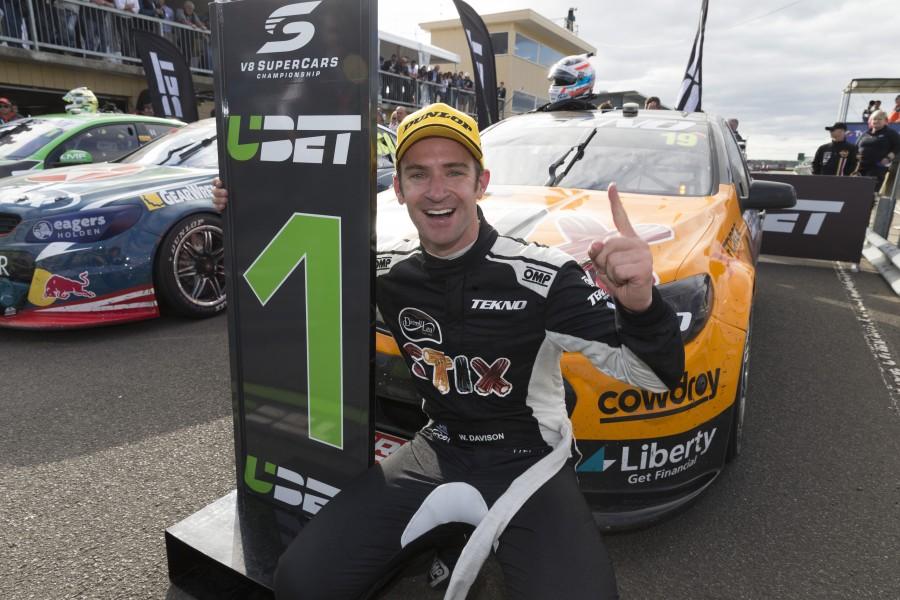 Will Davison of Tekno Autosports during the Tyrepower Tasmania SuperSprint,  at the Symmons Plains Raceway, Launceston, Tasmania, April 03, 2016.