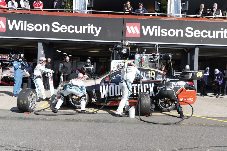 Will Davison of Tekno Autosports during the Wilson Security Sandown 500,  at the Sandown International Motor Raceway, Melbourne, Victoria, September 17, 2017.